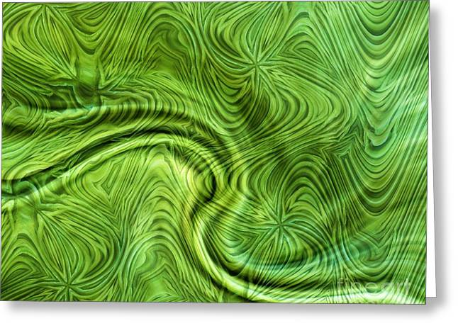 Green Beans Digital Art Greeting Cards - Green Beans Greeting Card by Ron Bissett