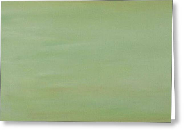 Breeds Greeting Cards - Green Space Greeting Card by Susan Herber