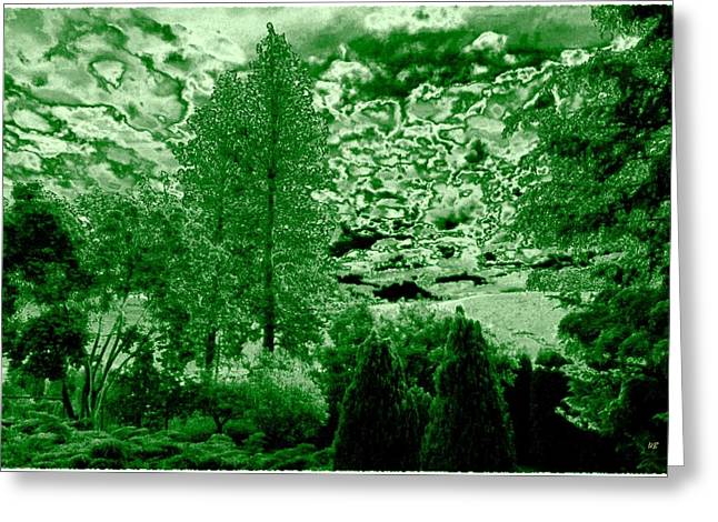 Nature Study Digital Greeting Cards - Green Zone Greeting Card by Will Borden