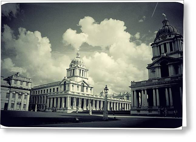 Royal Naval College Greeting Cards - Greenwich Old Royal Naval College Greeting Card by Brian Benson