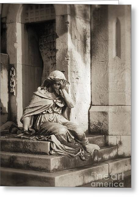 Grief Greeting Card by John Greim