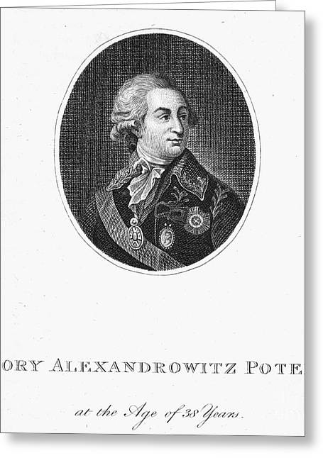 Alexandrovich Greeting Cards - Grigori Potemkin (1739-1791) Greeting Card by Granger