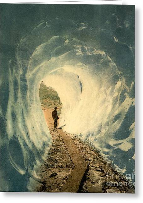 Grindelwald Grotto Switzerland Greeting Card by Padre Art