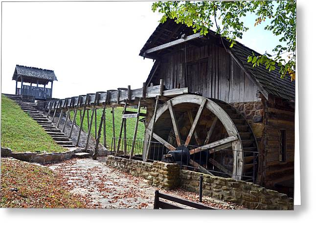 Grist Mill 1 Greeting Card by Franklin Conour