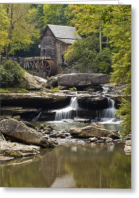Grist Mill Greeting Cards - Grist Mill No. 1 Greeting Card by Harry H Hicklin
