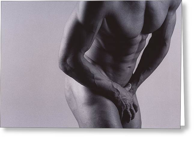 Groin Greeting Cards - Groin Pain Greeting Card by Cristina Pedrazzini