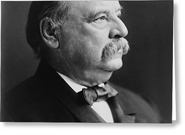 Grover Cleveland - President of the United States Greeting Card by International  Images