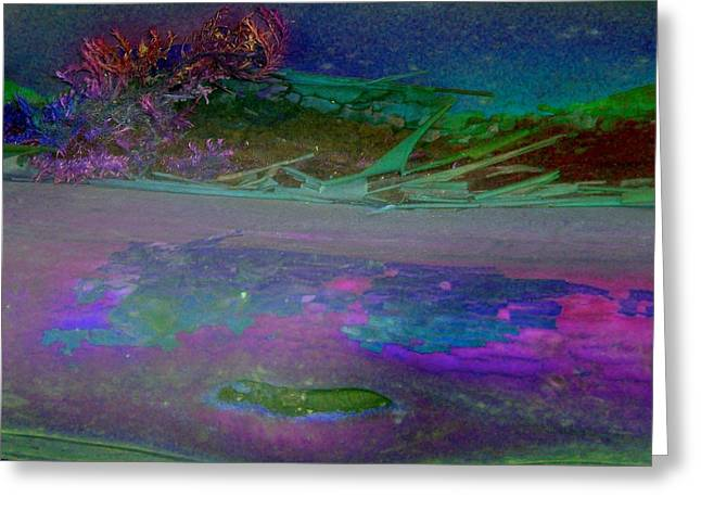 Greeting Card featuring the digital art Grow by Richard Laeton