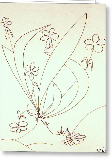 Denny Casto Greeting Cards - Growing flowers Greeting Card by Denny Casto