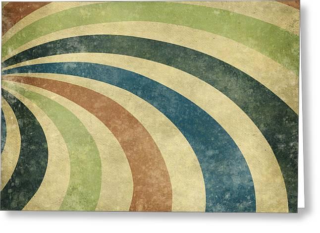 grunge Rays background Greeting Card by Setsiri Silapasuwanchai