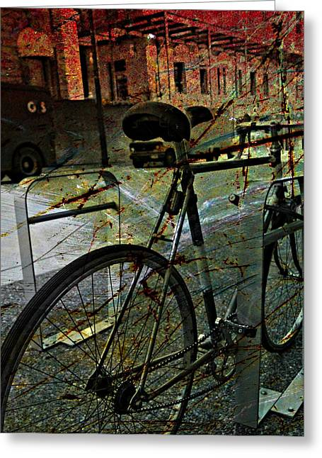 Canada Photograph Greeting Cards - Grunge Street Greeting Card by Jerry Cordeiro