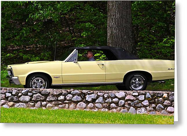 Automobile Artwork. Greeting Cards - Gto Greeting Card by Robert Pearson