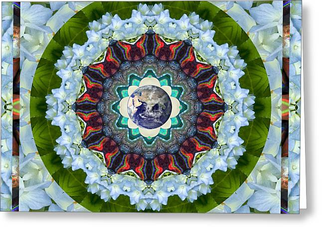 Planet Earth Greeting Cards - Guidance Greeting Card by Bell And Todd