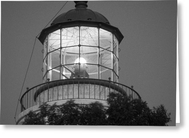 Paint Photograph Greeting Cards - Guiding Light Greeting Card by Gordon Wood