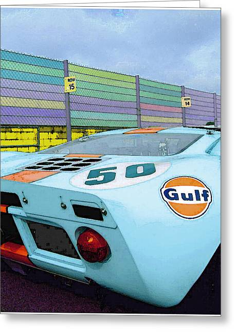 Gulf 50 Greeting Card by Kenneth Breeze
