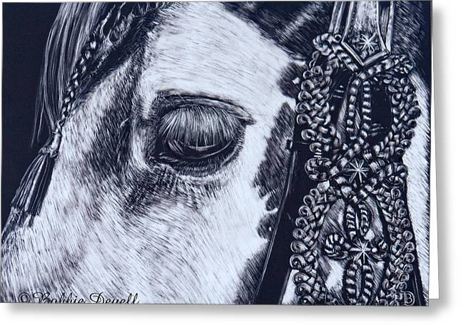 Gypsy Greeting Cards - Gypsy Eyes Greeting Card by Bobbie Deuell