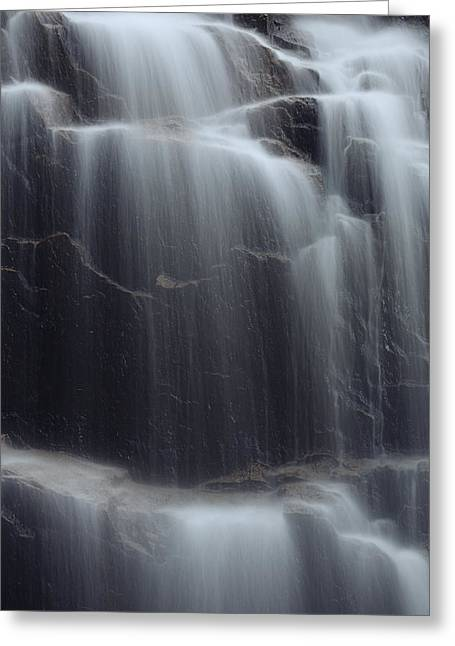 Acadia National Park Photographs Greeting Cards - Hadlock Falls Greeting Card by Rick Berk