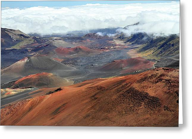 Haleakala Greeting Cards - Haleakala National park Maui Greeting Card by Pierre Leclerc Photography