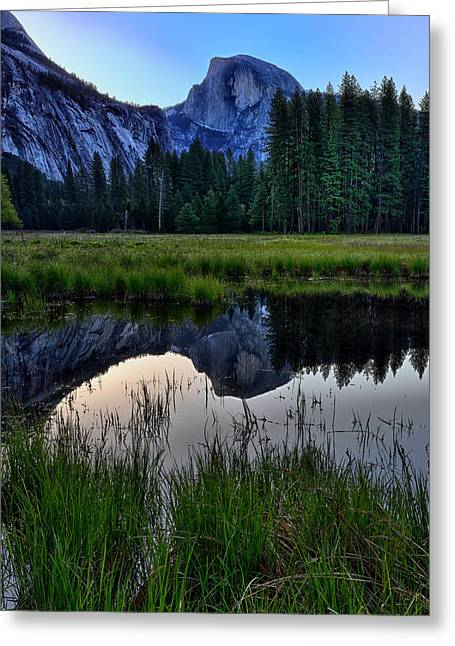 Half Dome Greeting Cards - Half Dome at Sunrise Greeting Card by Rick Berk