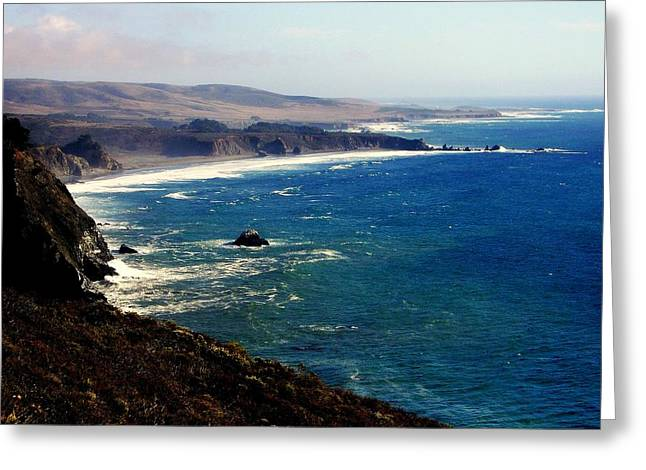 Half Moon Bay Greeting Cards - Half Moon Bay Greeting Card by Karen Wiles