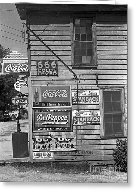 Halifax Photographs Greeting Cards - Halifax: Store, 1938 Greeting Card by Granger