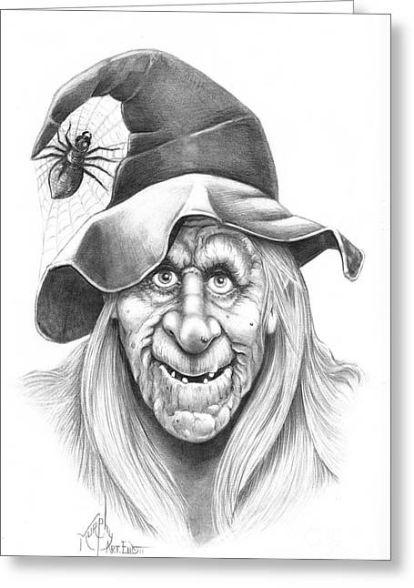 Most Drawings Greeting Cards - Halloween WeeOtch Greeting Card by Murphy Elliott