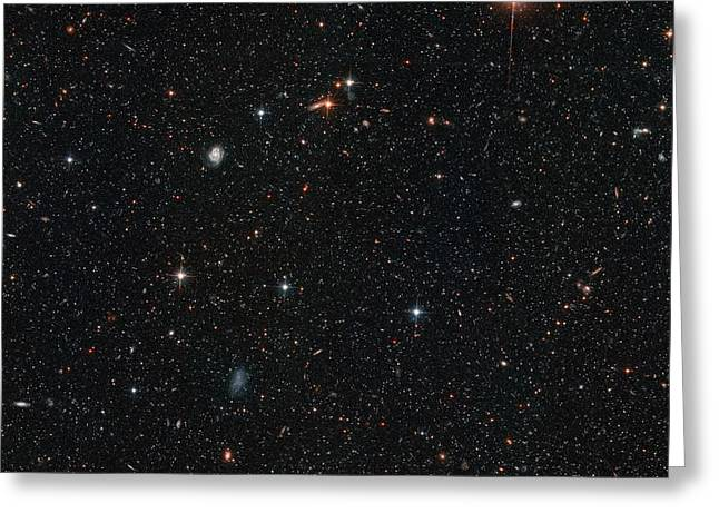 Halo Stars In Andromeda Galaxy M31 Greeting Card by Space Telescope Science Institute NASA
