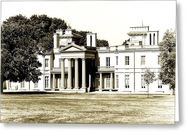 Dundurn Castle Greeting Cards - Hamiltons Dundurn Castle  Greeting Card by Emilio Lovisa