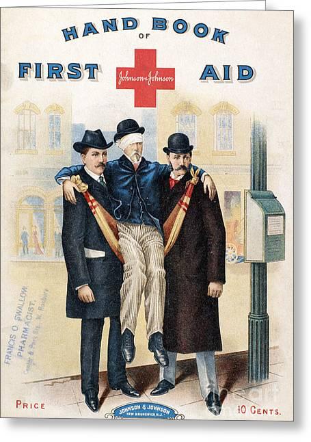Medicine Man Greeting Cards - Handbook: First Aid Greeting Card by Granger