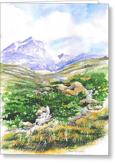 Hunting Cap Greeting Cards - Handies Greeting Card by David Ackerson