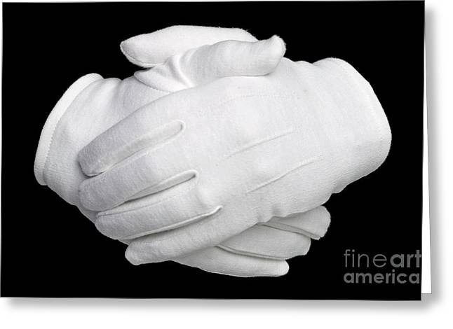 Reassurance Greeting Cards - Hands held Greeting Card by Richard Thomas