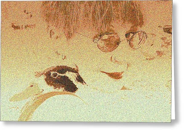 Best Sellers -  - Yomamabird Rhonda Greeting Cards - Handsome Duck Greeting Card by YoMamaBird Rhonda