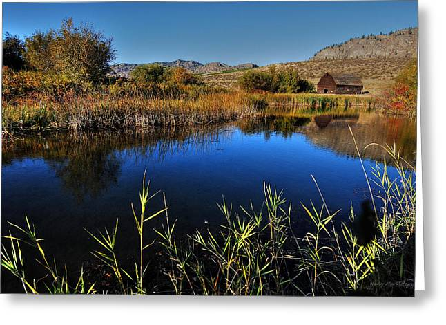 Wesley Allen Photography Greeting Cards - Hanes Pond Greeting Card by Wesley Allen Shaw