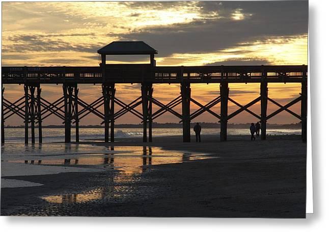 Bonnes Eyes Fine Art Photography Greeting Cards - Hanging at Sunset Greeting Card by Bonnes Eyes Fine Art Photography
