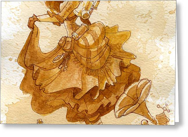 Happiness Greeting Card by Brian Kesinger