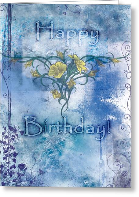 Home Interiors Greeting Cards - Happy Birthday - Card Design Greeting Card by Christopher Gaston