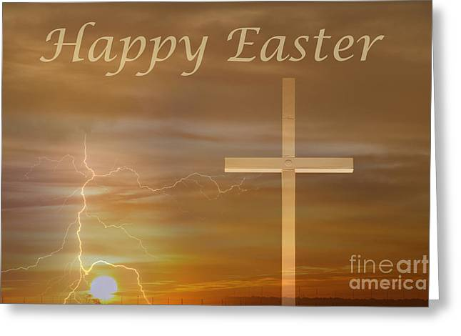 Sunrise Greeting Cards - 1 Easter Sunrise Greeting Card by James BO  Insogna