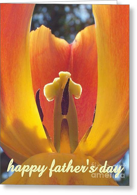 Happy Father's Day Greeting Card by Tina Marie