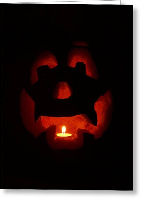 Jackolanterns Greeting Cards - Happy Halloween Jack o Greeting Card by Tina Barnash