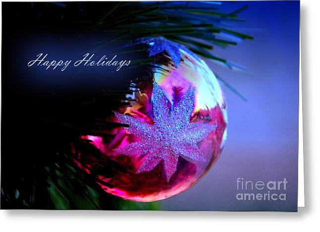 Happy Holidays Greeting Card by Gerlinde Keating - Galleria GK Keating Associates Inc