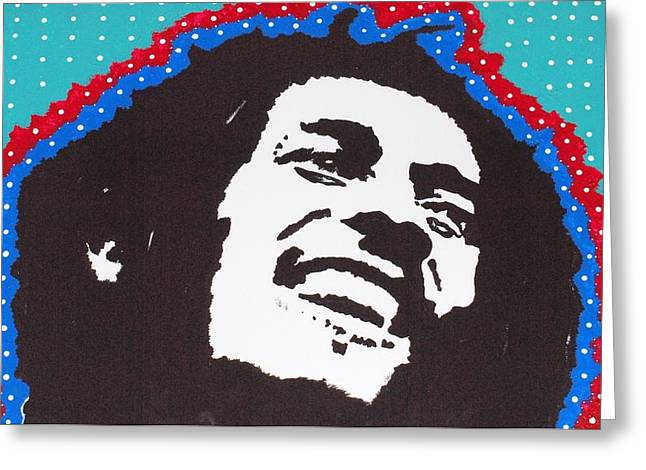 Stir Drawings Greeting Cards - Happy Marley Greeting Card by Robert Margetts
