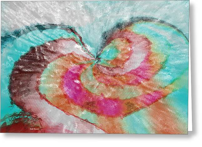 Happy Valentine's Day Greeting Card by Linda Sannuti