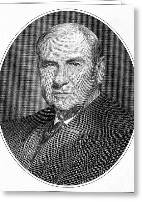 Chief Justice Greeting Cards - Harlan F. Stone (1872-1946) Greeting Card by Granger