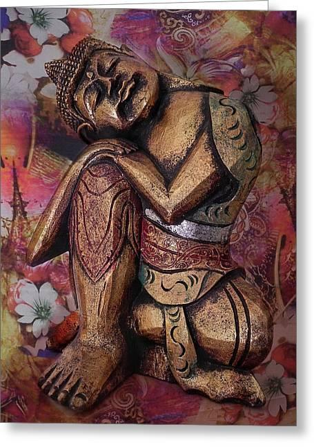 Harmony In Silence Greeting Card by Joachim G Pinkawa