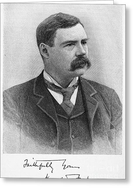 Harold Frederic (1856-1898) Greeting Card by Granger