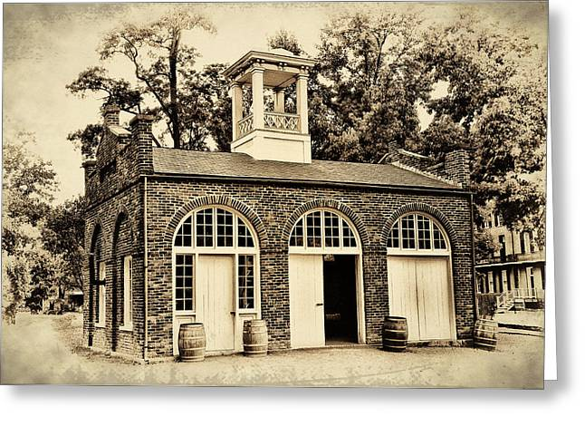 Harpers Ferry Armory Greeting Card by Bill Cannon