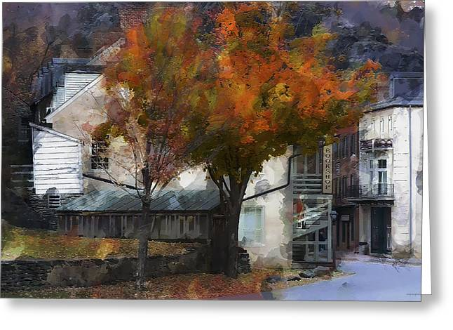Harper's Ferry Greeting Card by Ron Jones