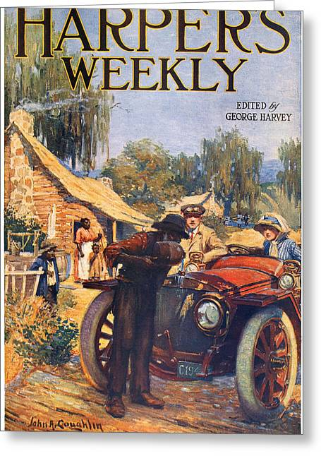 Sharecropper Greeting Cards - Harpers Weekly, 1913 Greeting Card by Granger