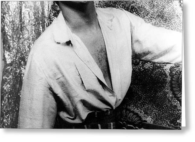 HARRY BELAFONTE (1927- ) Greeting Card by Granger