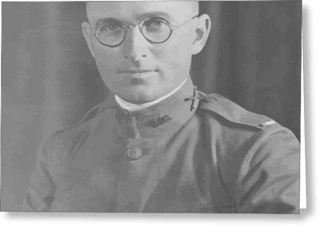 Harry Truman During World War One Greeting Card by War Is Hell Store